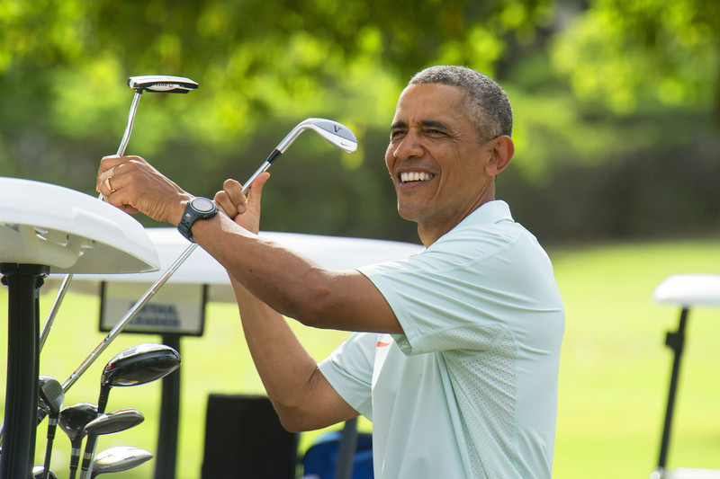 Barack Obama has impressed many with his Golfing skills
