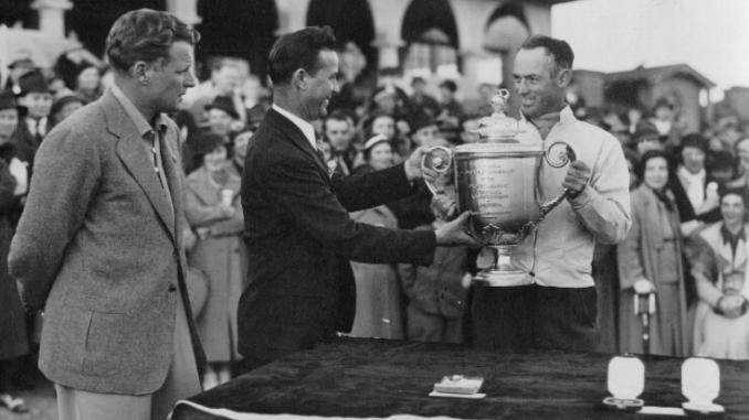 Denny Shute wins 19th PGA Championship