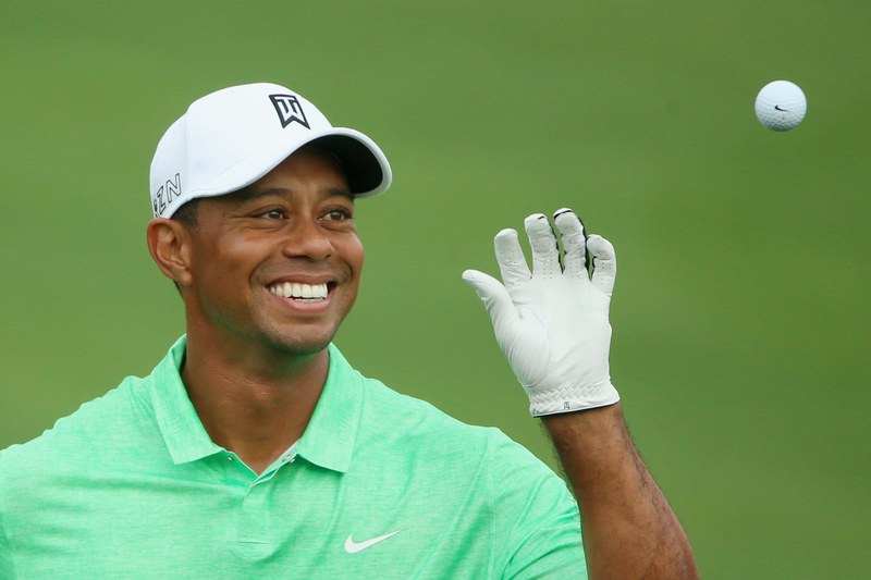 Tiger Woods comeback, golf courses