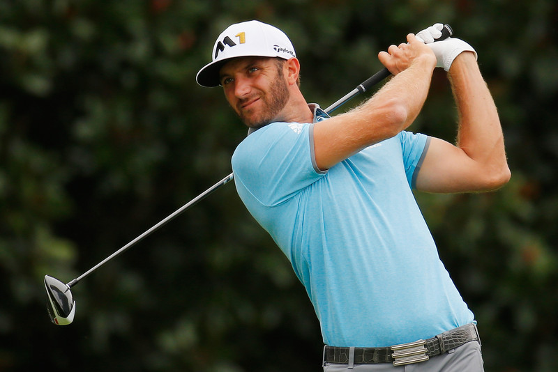 Dustin Johnson has moved to number 1