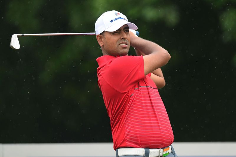 Anirban Lahiri at Eurasia Cup, golf courses