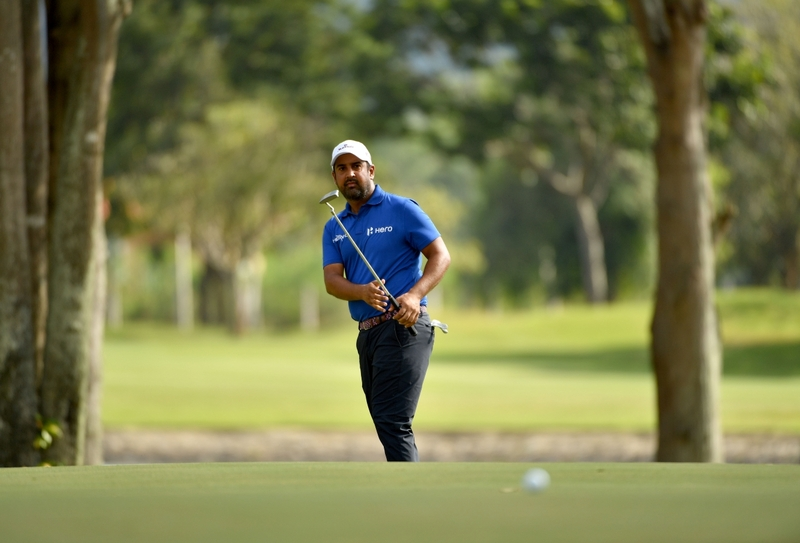 Shiv Kapur at the Singapore Open, golf courses
