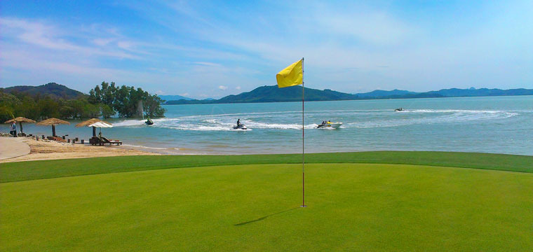Luxury Golf holidays Thailand