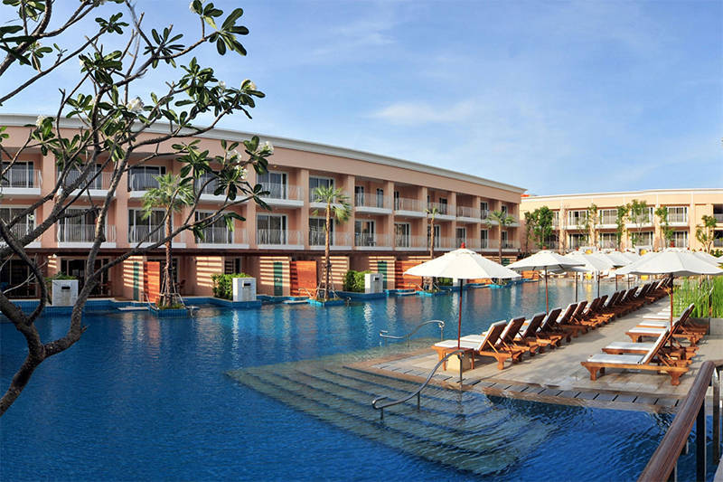 Millennium Resort Phuket, golf holiday thailand