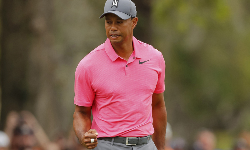 Tiger Woods Masters 2018