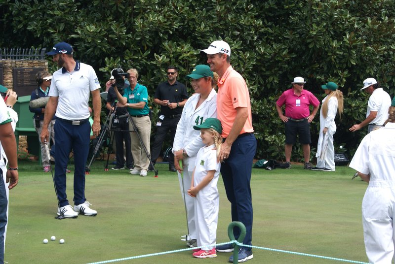 Ariya with Justin Rose