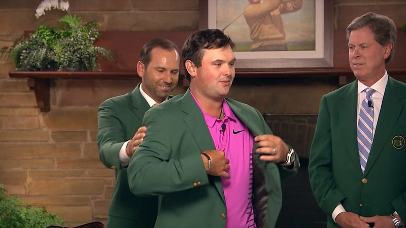 Sergio Garcia and Patrick Reed