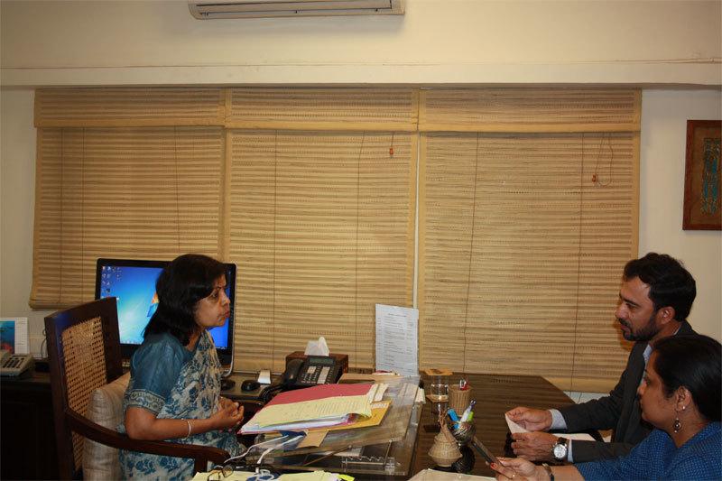 Rashmi Verma with Team 4moles.com