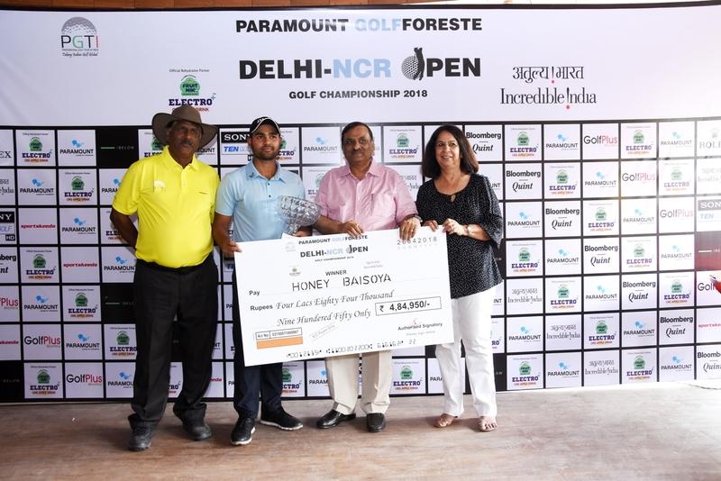Honey wins delhi ncr open
