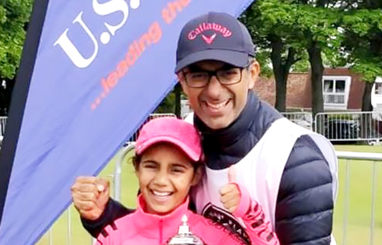 Asara Sawhney won US Golf kids championship