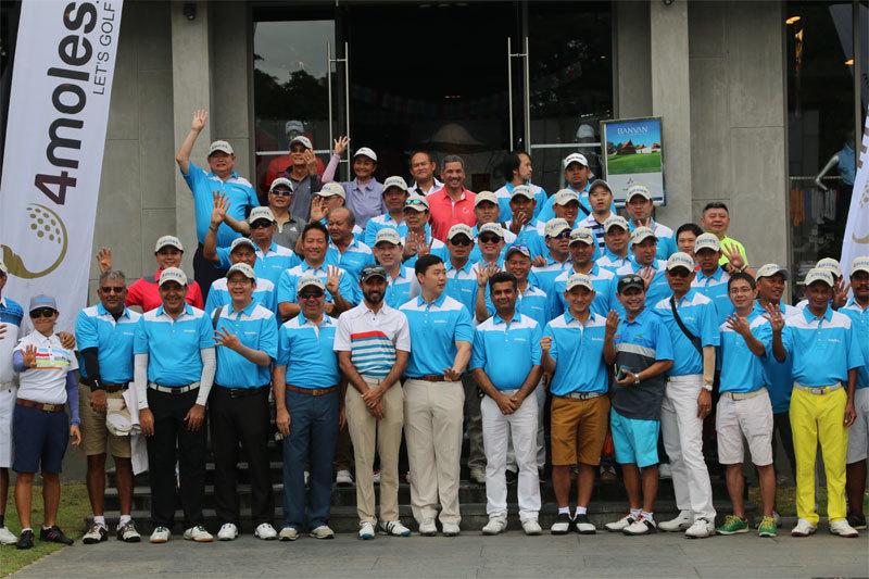 4moles Golf Getaway Thailand 2018
