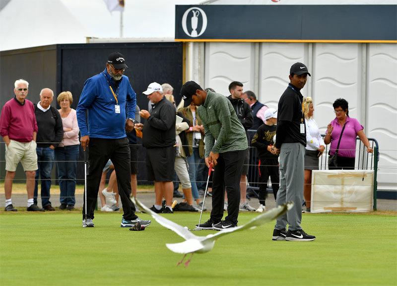 Shubhankar at the British Open