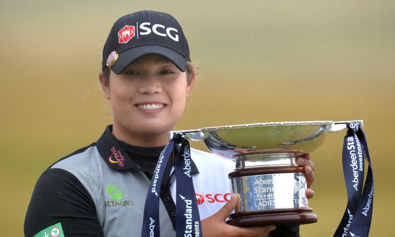 Ariya Jutanugarn wins scottish Open