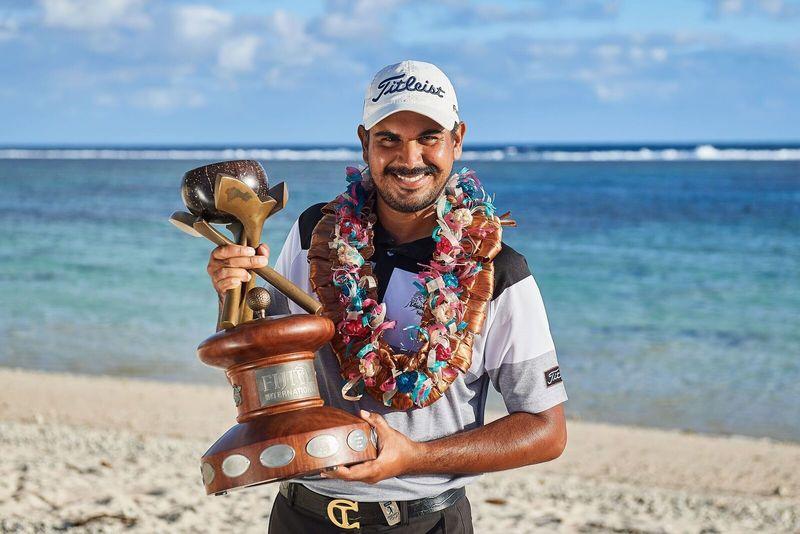 Gaganjeet Bhullar Fiji winner
