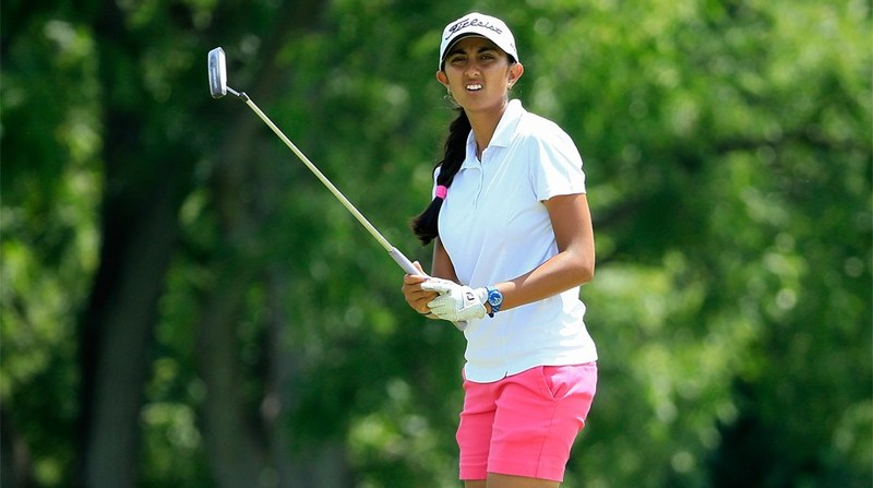 Aditi Ashok records her best finish in a Major