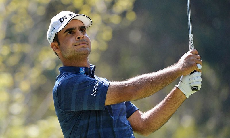 Shubhankar Sharma at PGA Championship