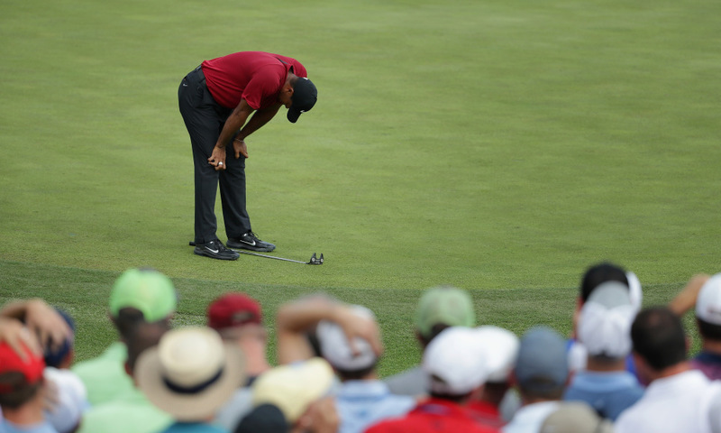 Tiger Woods heartbreak