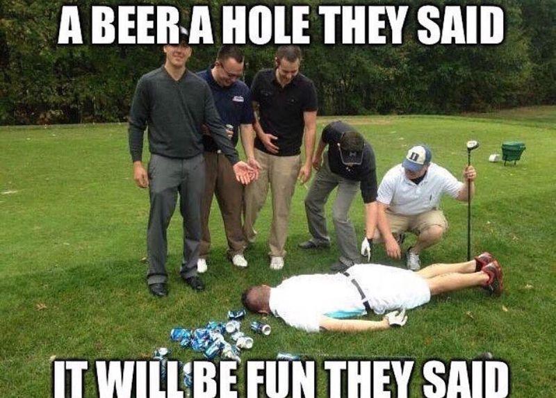 Golf meme