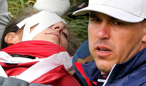 Women loses eyesight Golf