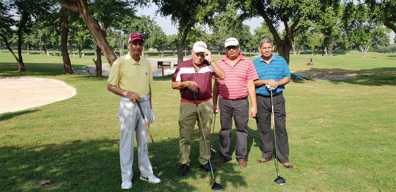 Brig V Kumar, DP Tripathi, Rajat Bansal and KK Sabharwal