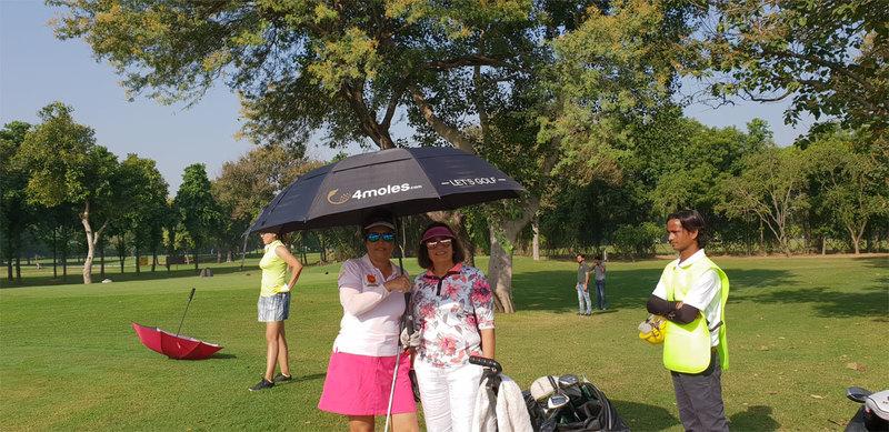 Women Golfers 4moles umbrella
