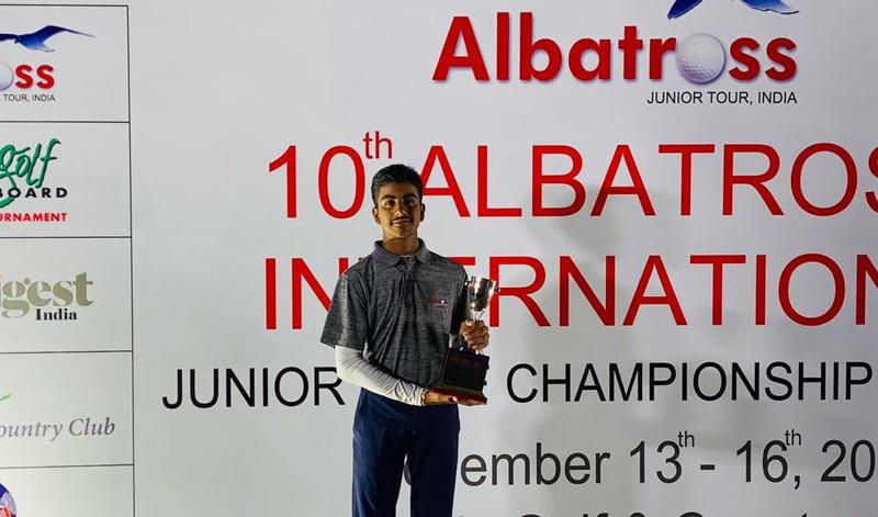 Arjun Bhati wonder boy golf