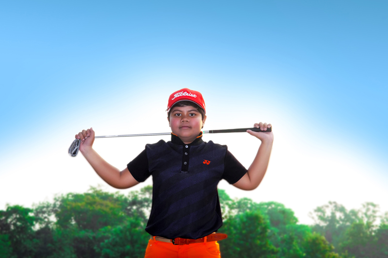 Chaitanya pandey Junior Golfer