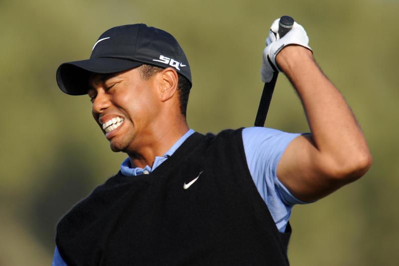 Tiger Woods neck injury