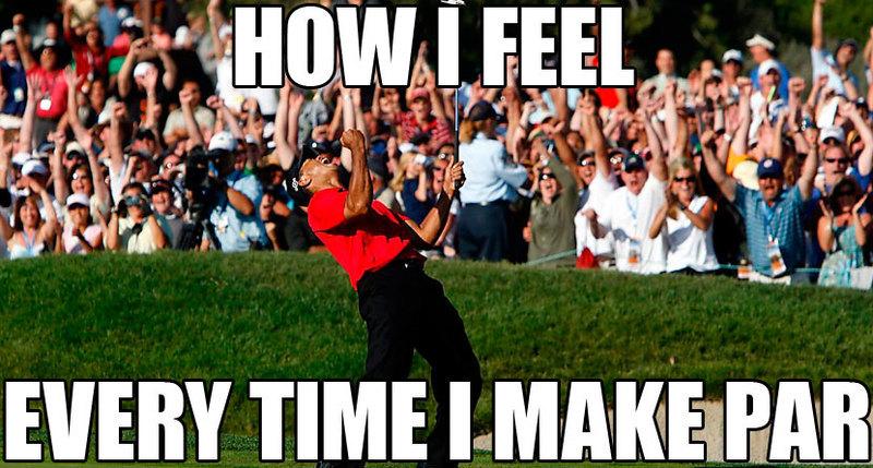 golf meme funny golf par