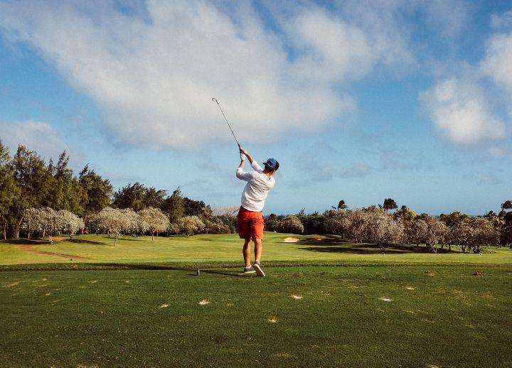 golf course, visualization