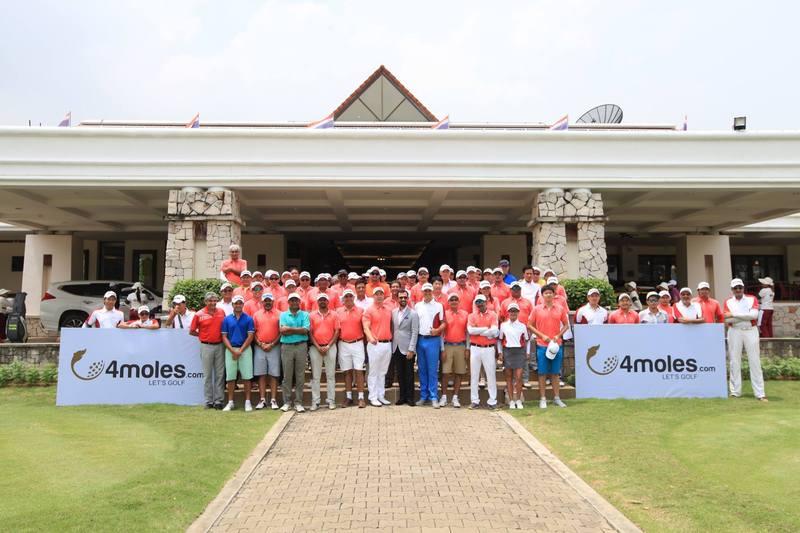 Golfers together